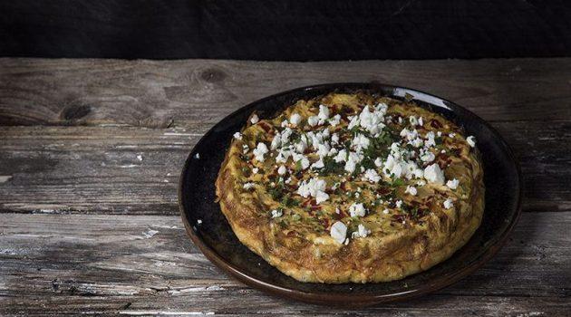 Ομελέτα φούρνου με τυριά