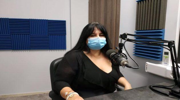 Η Ε. Παπαλέξη στον Antenna Star για την πορεία της πανδημίας (Ηχητικό)