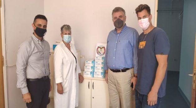 Παράδοση υγειονομικού υλικoύ από το τμήμα Ναυπάκτου «Ahepa Lepanto 1571» (Photos)