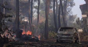 Χαρδαλιάς για φωτιά σε Σταμάτα και Ροδόπολη: «Πολλές διάσπαρτες εστίες»…