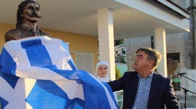 Πλαγιά: Τα Αποκαλυπτήρια της Προτομής του Αντιστράτηγου Κώστα Καπογιωργάκη (Photos)