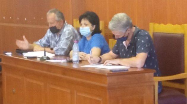 Συνεδρίαση του Σ.Ο.Π.Π. Π.Ε. Αιτωλ/νίας υπό την Μαρία Σαλμά για καύσωνα και πυρκαγιές