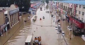 Κίνα: Καταστροφικές πλημμύρες (Video)