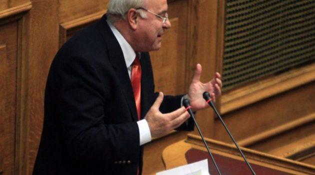 Πέθανε ο Τάσος Νεράντζης πρώην Βουλευτής της Νέας Δημοκρατίας
