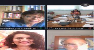 Η Αμαλία Βούλγαρη σε τηλεδιάσκεψη για το Περιφερειακό Σχέδιο Δράσης…