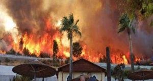 Καίγονται σπίτια στη Ζήρια Αχαΐας – Ένα βήμα πριν τη…