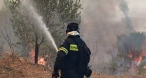 Νέα πυρκαγιά στη Ζήρια Αχαΐας – Εκκενώνεται οικισμός