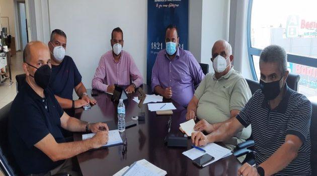 Σύσκεψη με φορείς για θέματα πολιτικής προστασίας στην Περιφέρεια Δυτ. Ελλάδας