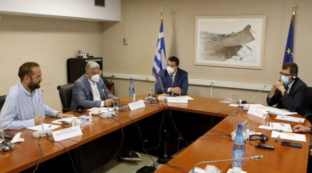 Στη συνεδρίαση της ΕΝ.Π.Ε. με τον Ευρ. Επίτροπο Διαχ. Κρίσεων ο N. Φαρμάκης