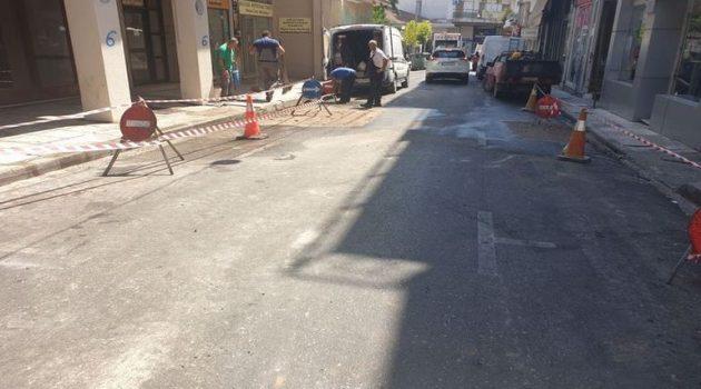 Αγρίνιο – Οδός Σουλίου: Παραδόθηκε και πάλι στην κυκλοφορία