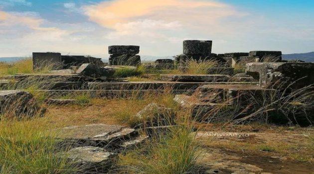 Ναός του Στρατίου Διός: Ένας πανελλήνιος θησαυρός της Αιτωλοακαρνανίας στην απόλυτη λήθη