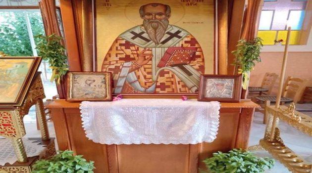 Με Λαμπρότητα εόρτασε ο Ι.Ν. Αγίου Αλεξάνδρου στη Φραγκόσκαλα Σαργιάδας (Photos)