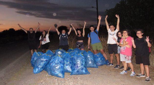 «Save Your Hood Agrinio»: Με επιτυχία ο καθαρισμός στo Δοκίμι (Photos)