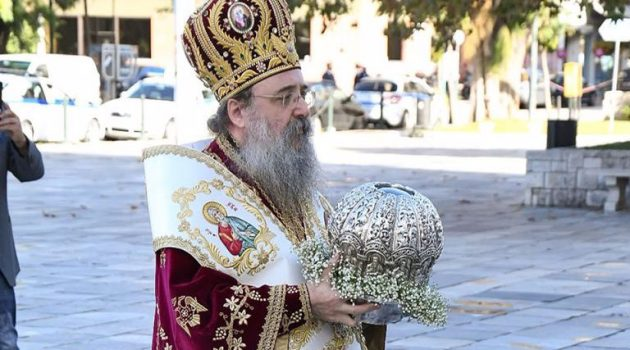 Εξιτήριο από το Νοσοκομείο έλαβε ο Μητροπολίτης Πατρών Χρυσόστομος