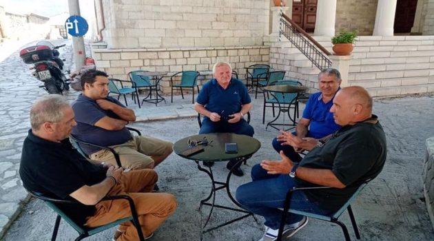 Ναυπακτία: Σε Κοινότητες της Ενότητας Πλατάνου ο Δήμαρχος Βασίλης Γκίζας (Photos)