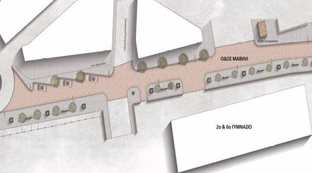 Ο Δήμος Αγρινίου αναβαθμίζει το δίκτυο πεζοδρόμων της πόλης
