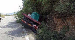 Αμφιλοχία: Εκτροπή φορτηγού κοντά στη Στάνο – Στο Νοσοκομείο ο…