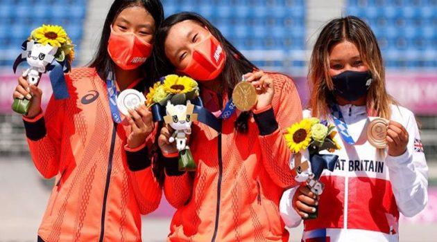 Τόκιο 2020: Μια 12χρονη και μια 13χρονη στο βάθρο των Ολυμπιακών Αγώνων!