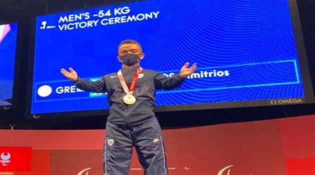 Τόκιο 2020: Χάλκινο Μετάλλιο για τον Αιτωλοακαρνάνα Δημήτρη Μπακοχρήστο