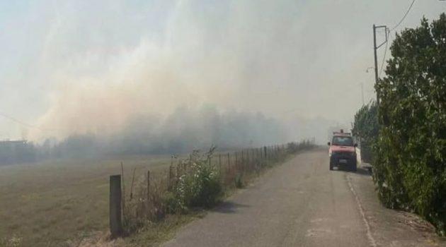 Φωτιά στον κάμπο της Άρτας: Εκκενώνονται δύο οικισμοί