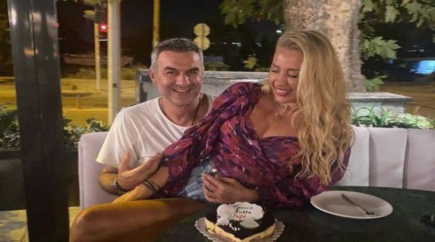 Γωγώ Μαστροκώστα: Γενέθλια αγκαλιά με τον σύζυγό της (Photos)