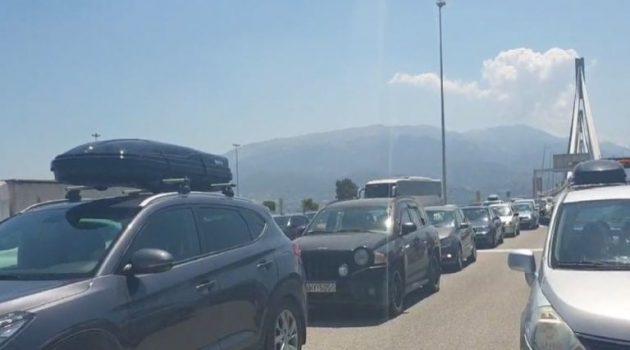 Τεράστιες ουρές στα διόδια της Γέφυρας Ρίου – Αντιρρίου (Video)