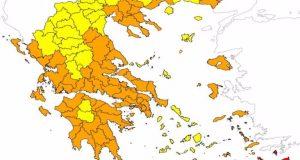 Πολύ υψηλός ο κίνδυνος πυρκαγιάς στη Δυτική Ελλάδα και την…