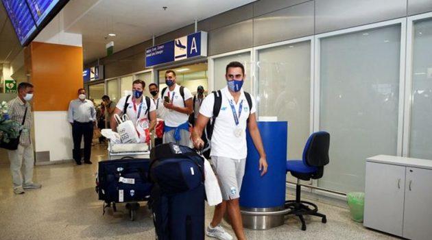 Ήρθε στην Ελλάδα και αποθεώθηκε η Εθνική Ομάδα Πόλο Ανδρών