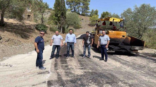Αγρίνιο: Ολοκληρώθηκαν οι εργασίες ασφαλτόστρωσης στην Αγία Παρασκευή (Photos)