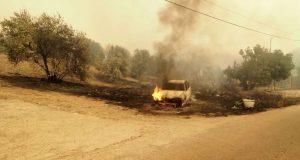 Φωτιά στην Εύβοια: Εκκενώθηκε το χωριό Κεχριές, απομακρύνονται οι κάτοικοι