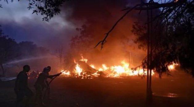 Ο Δήμος Ακτίου-Βόνιτσας για τη φωτιά στα Παλιάμπελα: «Οφείλεται σε εμπρησμό»