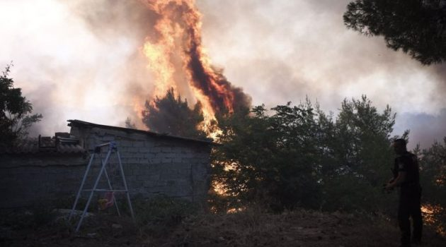 Λέκκας: Οι τρεις λόγοι που η φωτιά στη Βαρυμπόμπη εξαπλώθηκε