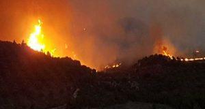 Φωτιά στην Ηλεία: Εγκλωβισμένοι 150 άνθρωποι στο χωριό Κλαδέος –…