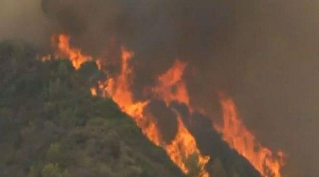 Φωτιές στην Ηλεία: Εκκενώνονται ακόμη οκτώ κοινότητες του Δήμου της Αρχαίας Ολυμπίας