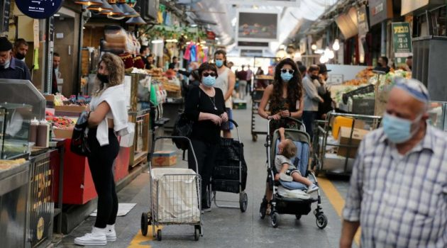 Ισραήλ: Πάνω από 6.000 κρούσματα κορωνοϊού το τελευταίο 24ωρο