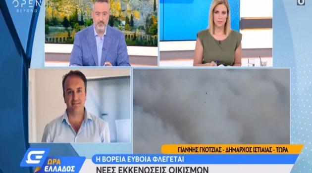 Δήμαρχος Ιστιαίας: «Περιμένουμε να ολοκληρωθεί το ολοκαύτωμα μας» (Video)