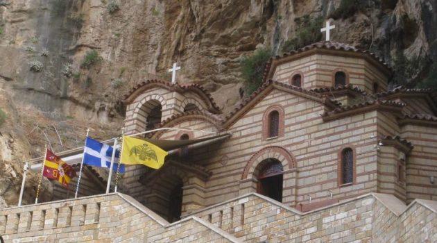 Τέλεση Αγρυπνίας στην Ιερά Μονή Αγίας Ελεούσης Κλεισούρας Μεσολογγίου