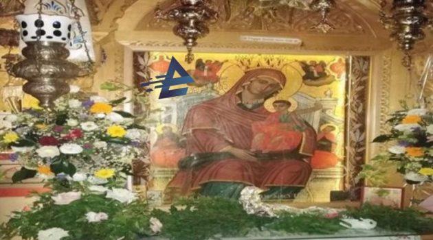 Ιερά Μονή Κοιμήσεως της Θεοτόκου Βλοχού: Παναγία η Ωραιοτάτη