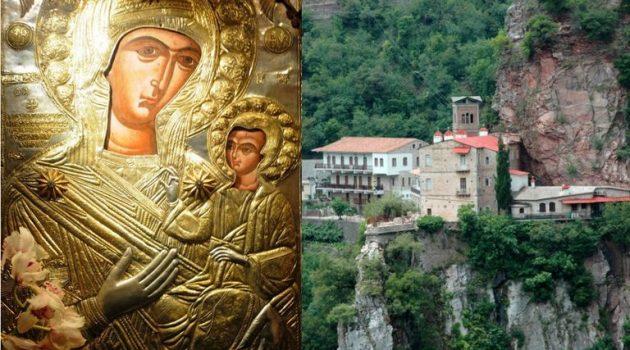Γιορτάζει την Παναγία την Προυσιώτισσα ο Ι.Ν. Αγίας Τριάδος Αγρινίου