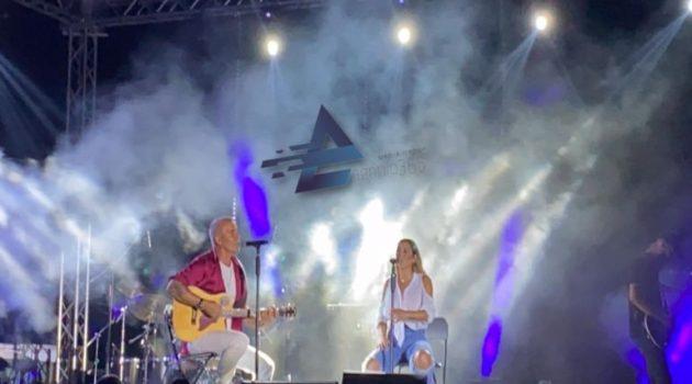 Εντυπωσίασαν Στέλιος Ρόκκος και Μελίνα Ασλανίδου στο Μεσολόγγι (Videos – Photos)