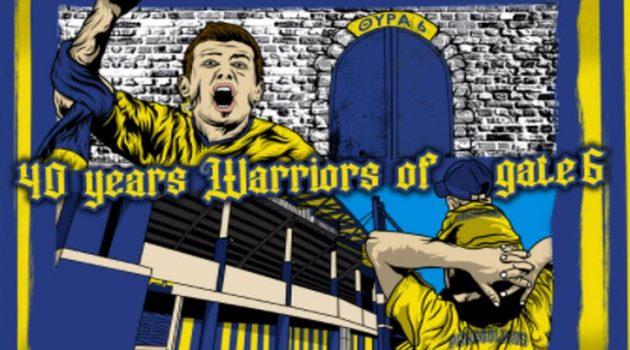Θύρα 6 – Warriors est.1981: Το πρώτο οπαδικό group για τον Παναιτωλικό
