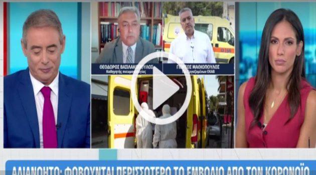 Βασιλακόπουλος: «Με απειλούν, λένε ότι θα με σπάσουν στο ξύλο» (Video)