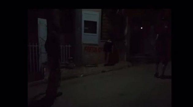 Ρουβίκωνας: Συνθήματα με μπογιά στο σπίτι του Κώστα Σκρέκα στο Κρυονέρι (Video)