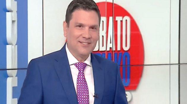 Ο Ντίνος Σιωμόπουλος θα γίνει για δεύτερη φορά πατέρας