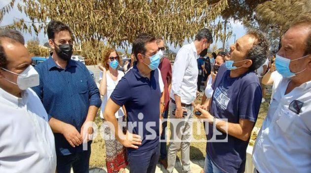 Τσίπρας: «Έχω την αίσθηση ότι η Ηλεία παραμελείται διαχρονικά» (Video)