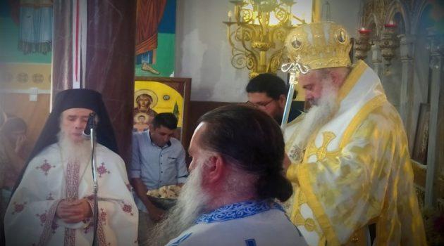 Μια ξεχωριστή Θεία Λειτουργία στον Ιερό Ναό Αγίας Παρασκευής Κυπαρίσσου (Photos)