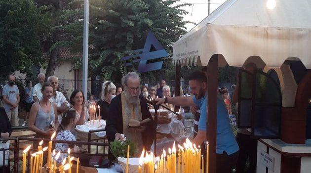 Εργ. Κατ. Αγ. Βαρβάρας: Δέηση στο Εικονοστάσι της Παναγίας Προυσιώτισσας (Videos – Photos)