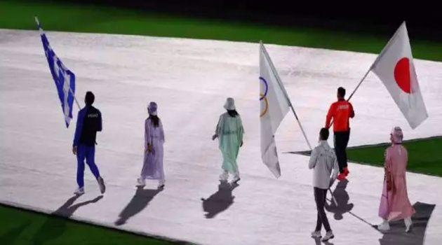 Τόκιο 2020: Η είσοδος του σημαιοφόρου Γιάννη Φουντούλη στην Τελετή Λήξης (Video)