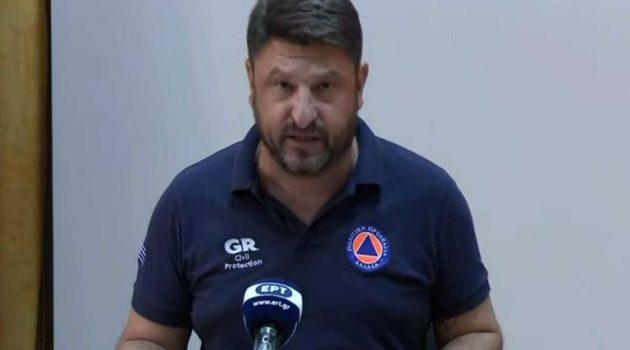 Νίκος Χαρδαλιάς: «56 οι ανοιχτές πυρκαγιές που αντιμετωπίζουμε»