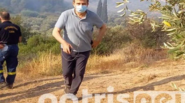 Μιχάλης Χρυσοχοΐδης για Αρχαία Ολυμπία: «Οι συνθήκες είναι εξαιρετικά ειδικές και σπάνιες»